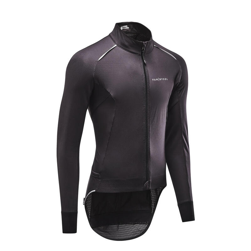 Road Cycling Winter Jacket Racer - Black