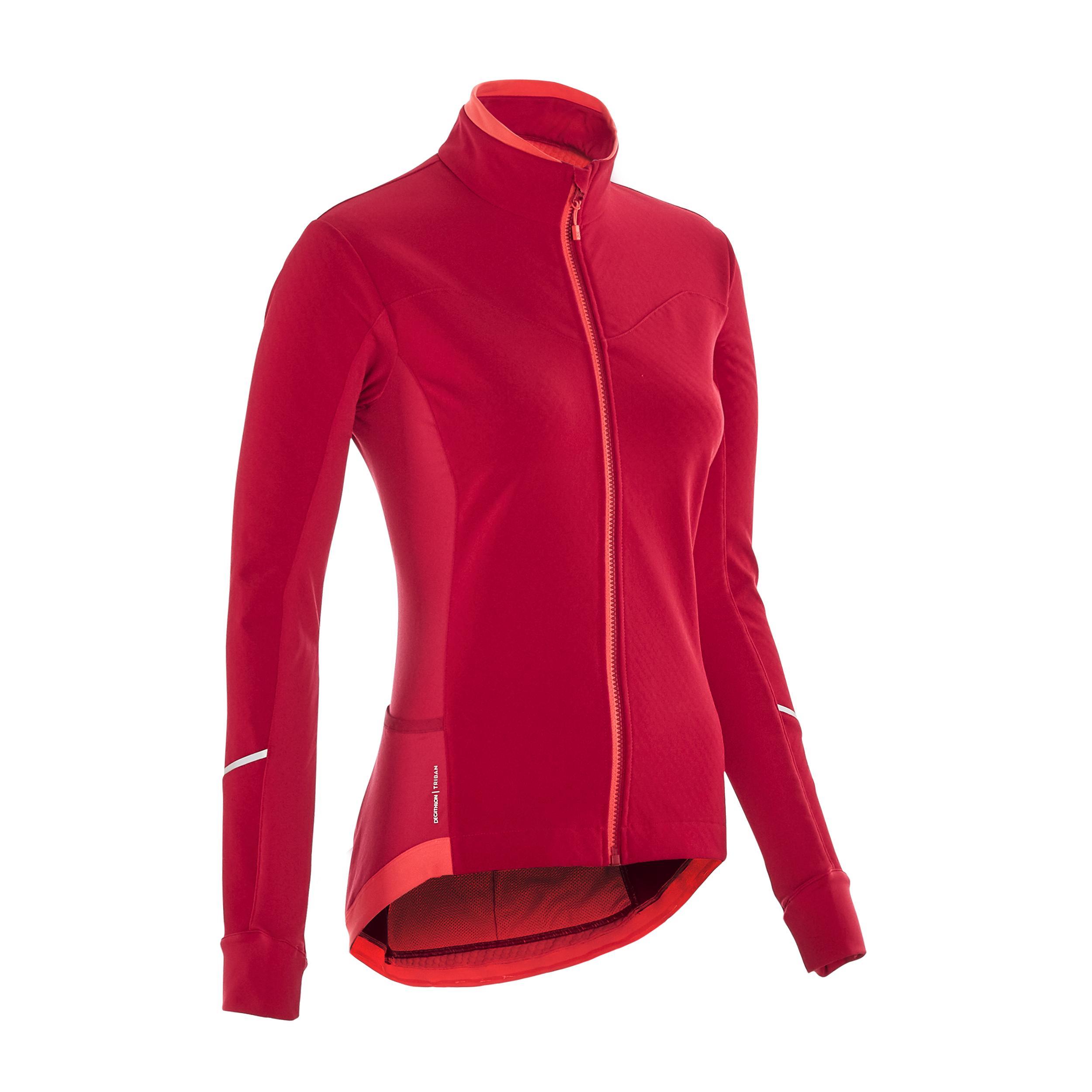 Jachetă Ciclism 500 Damă