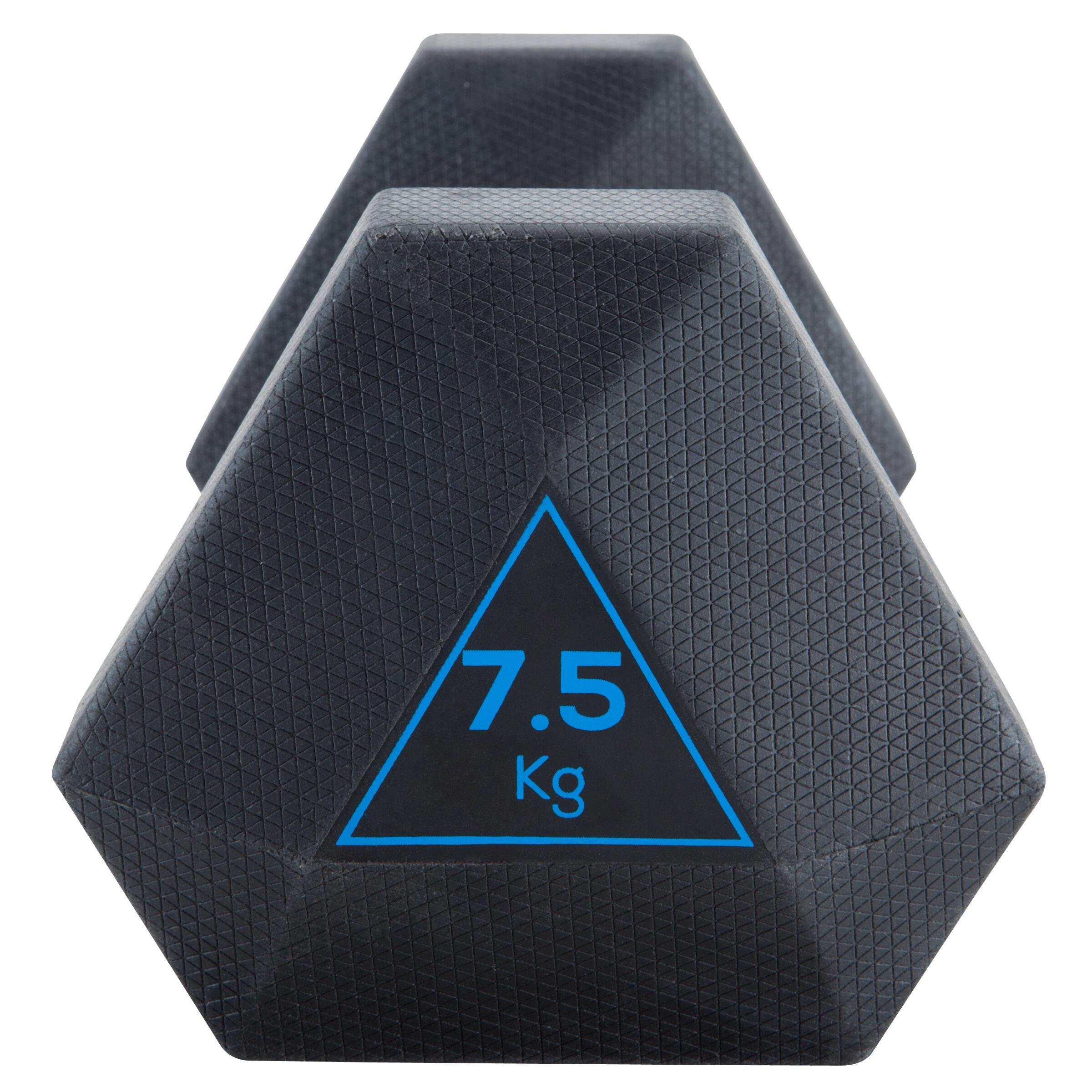 HALTERE HEX DUMBBELL 7.5KG