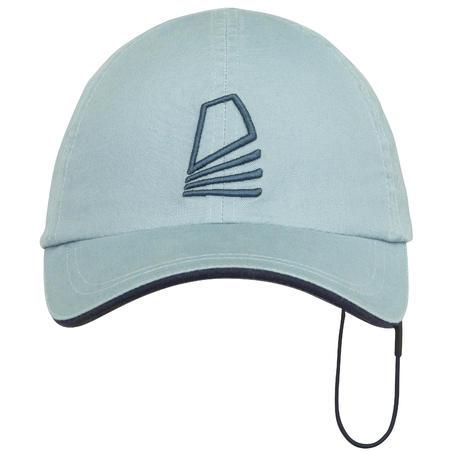 Adult's sailing cap SAILING 100 - Light Grey
