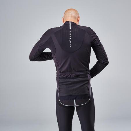 Куртка Racer для велоспорту, для холодної погоди - Чорна