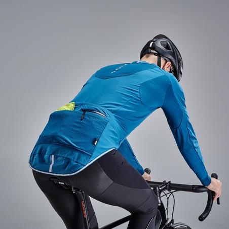 Куртка для велоспорту, для холодної погоди - Синій електрик