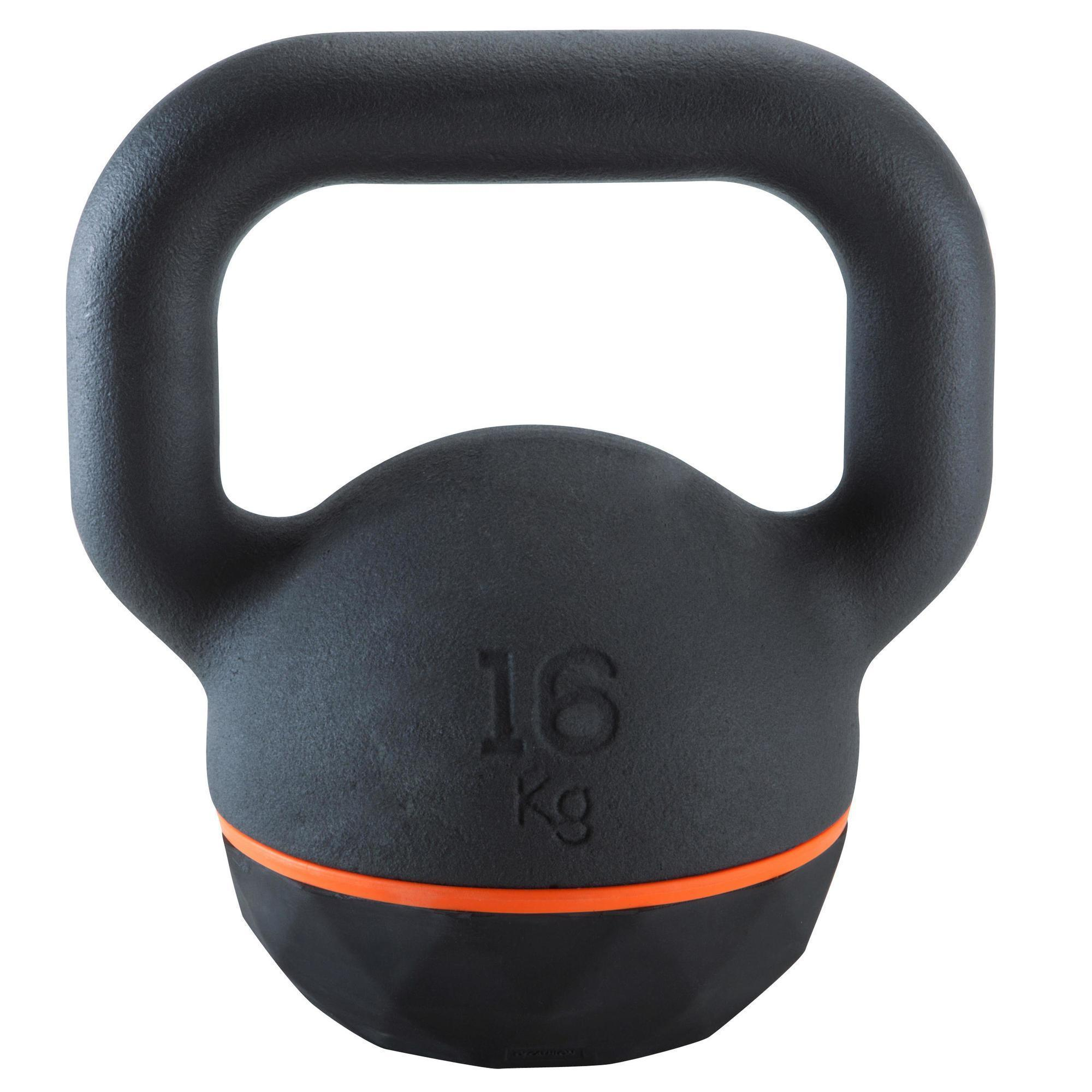 Kettlebell 16 Kg: Domyos By Decathlon