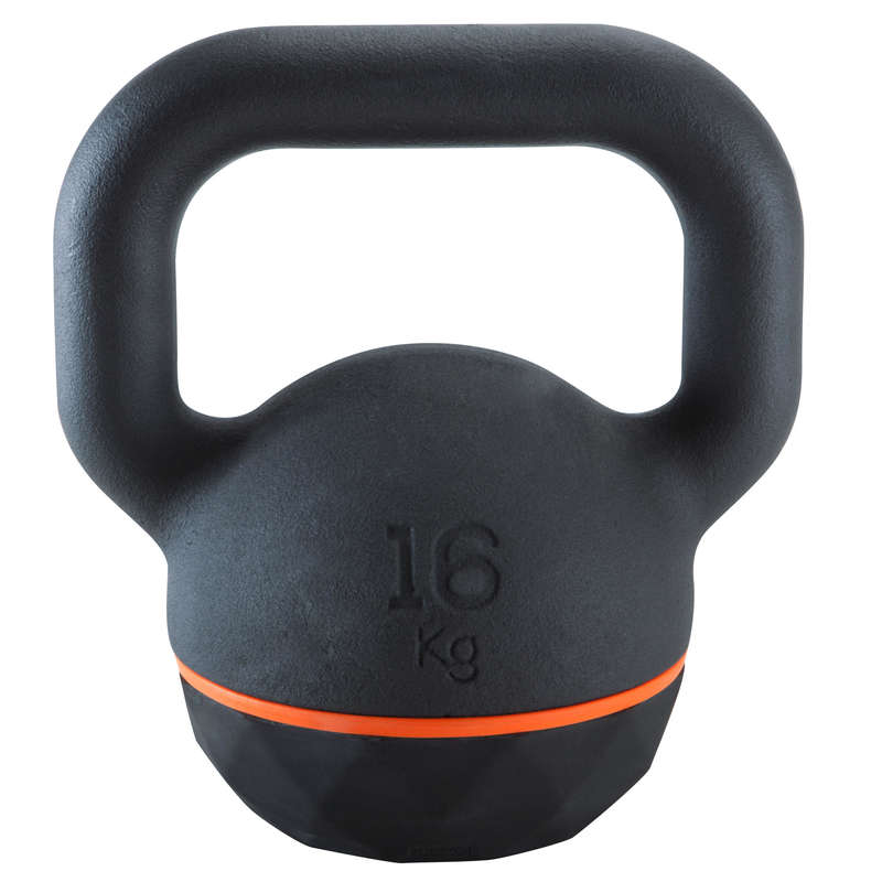 CROSS-TRAINING ACCESSORIES AND EQUIPMENT Fitness and Gym - Kettlebell - 16 kg DOMYOS - Fitness and Gym