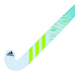 Stick de hockey ado 20% carbone mid bow FLX24 Compo4 C20 bleu clair vert