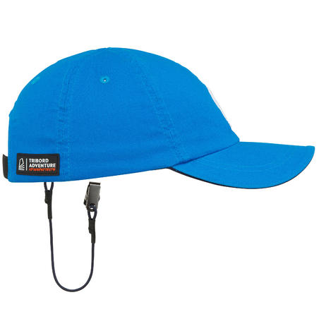 Kids' sailing cap SAILING 100 - electric blue