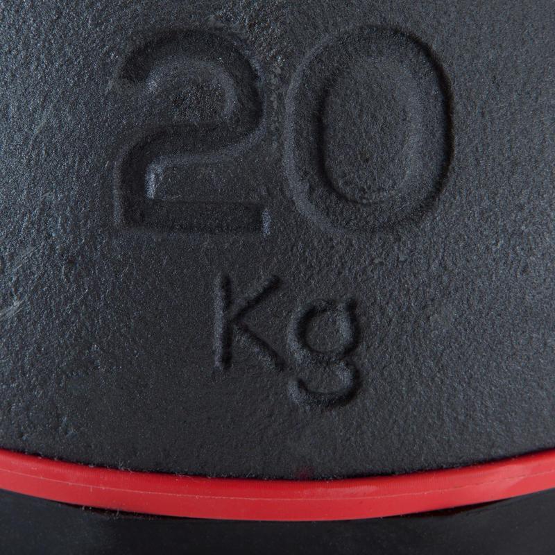 Kettlebell 20 kg - Black