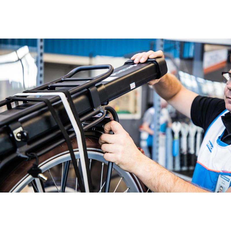 Changement batterie vélo en magasin