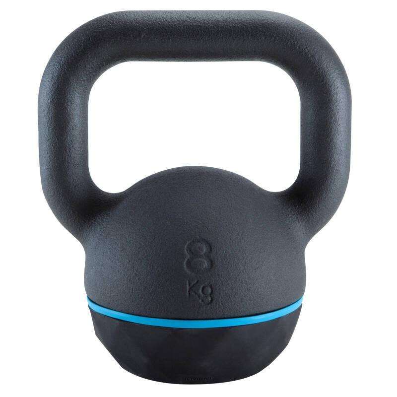 ZÁVAŽÍ NA KRUHOVÝ TRÉNINK Fitness - KETTLEBELL 8 KG DOMYOS - Posilování a kruhový trénink
