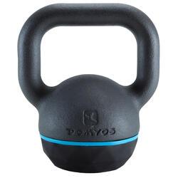 Kettlebell Cross Training Musculación Domyos 8 Kg Negro