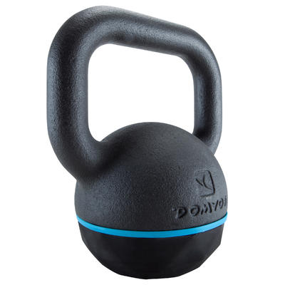 Pesa Rusa Kettlebell 8kg. Domyos Musculación Cross Fitness