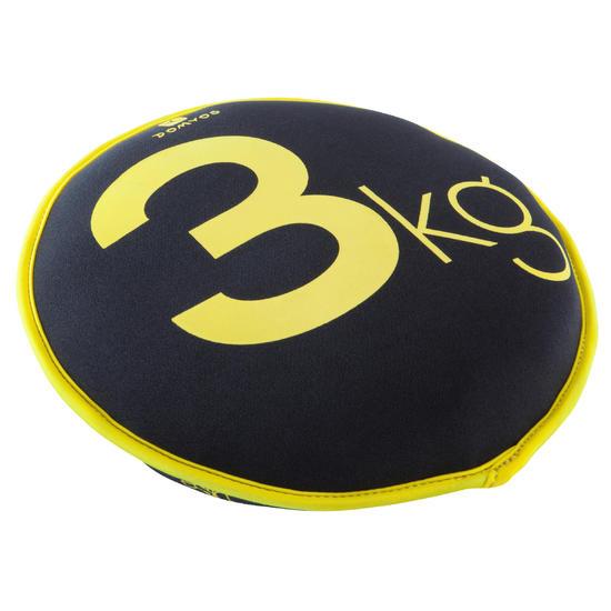 Soepele halter Sand Disc gym 3 kg - 188478