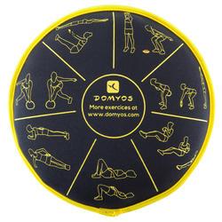 Soepele halter Sand Disc gym 3 kg - 188482