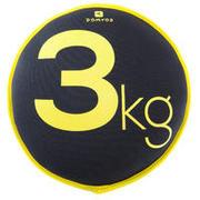 Supple Gym Sand Disc Weight 3 kg