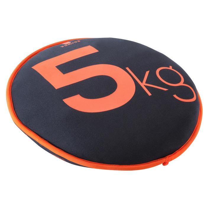 5 kg皮拉提斯鍛鍊彈性沙鈴