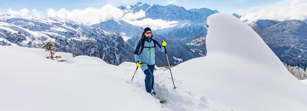 Comment utiliser ses fixations de ski de randonnée