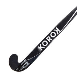 Hockeystick voor expert volwassenen Xlowbow 95% carbon FH990 zwart en wit