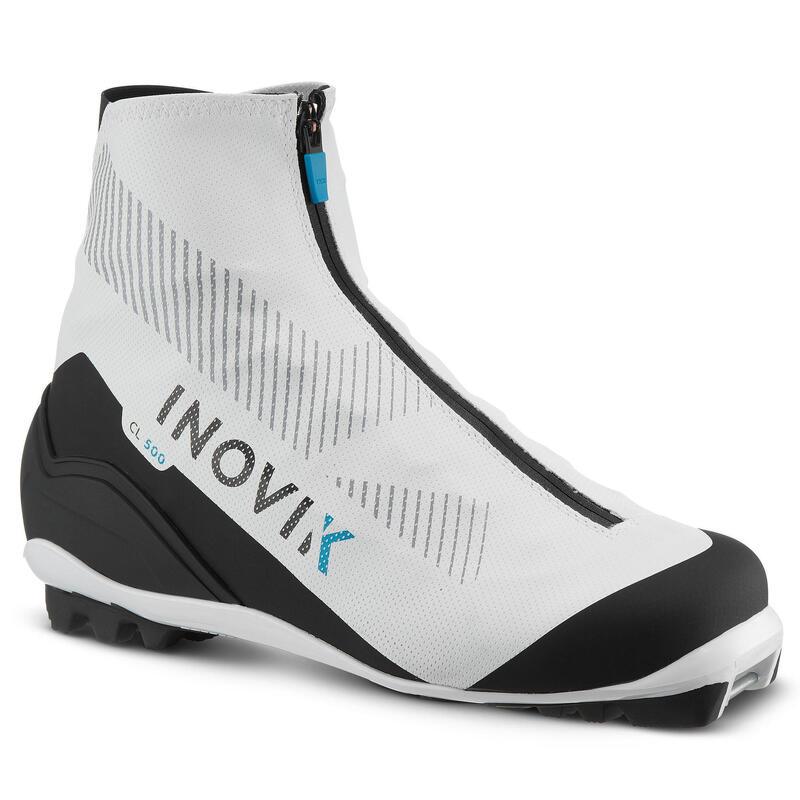Chaussure ski de fond classique blanches - XC S BOOT 500 - FEMME