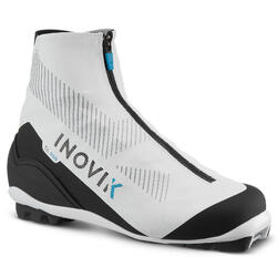 Botas de ski de fundo clássico - XC S BOOTS 500 MULHER branco