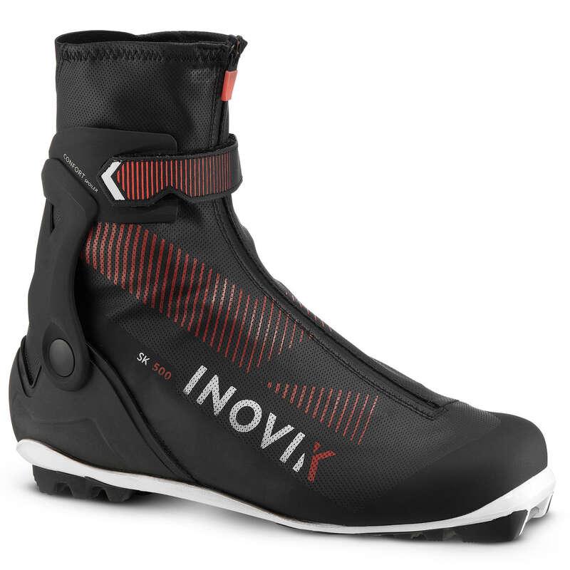 Felnőtt korcsolyázó stílusú felszerelés Sífutás, túrasí - Férfi sífutócipő XC S 500 INOVIK - Sífutás