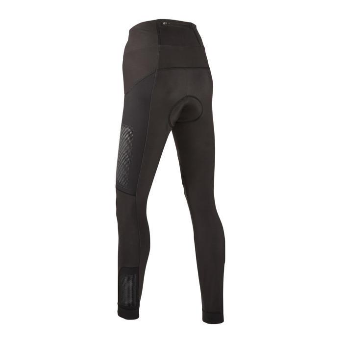 Lange MTB-broek voor dames zwart