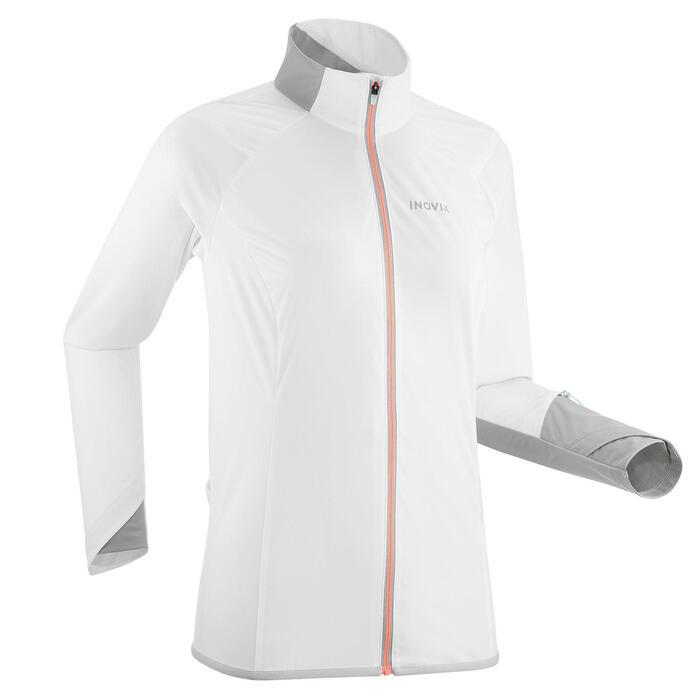 Veste de ski de fond légère blanche - XC S Jacket 500 - FEMME