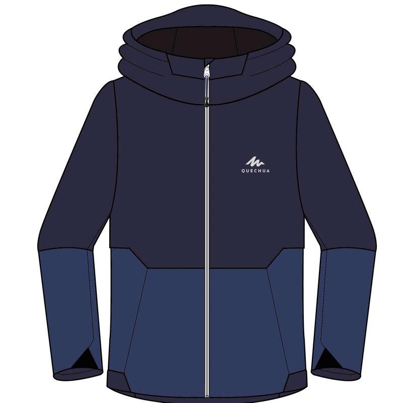 Fiú kabát, esőnadrág 7-15 év Túrázás - Gyerek kabát MH500 QUECHUA - Gyerek túraruházat