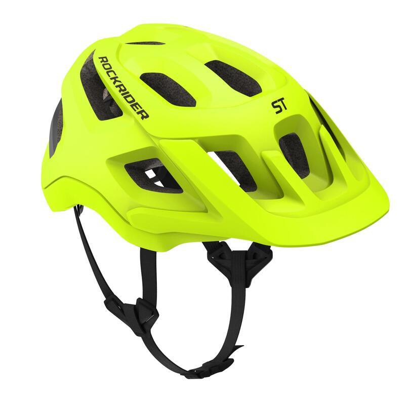 MTB-helm ST 500 fluogeel