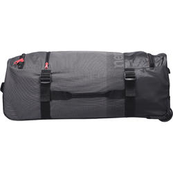 Koffer op wieltjes TR 120 60L grijs / koraal - 188530
