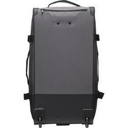 Koffer op wieltjes TR 120 60L grijs / koraal - 188533