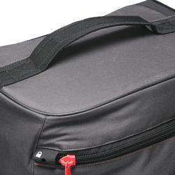 Koffer op wieltjes TR 120 60L grijs / koraal - 188538