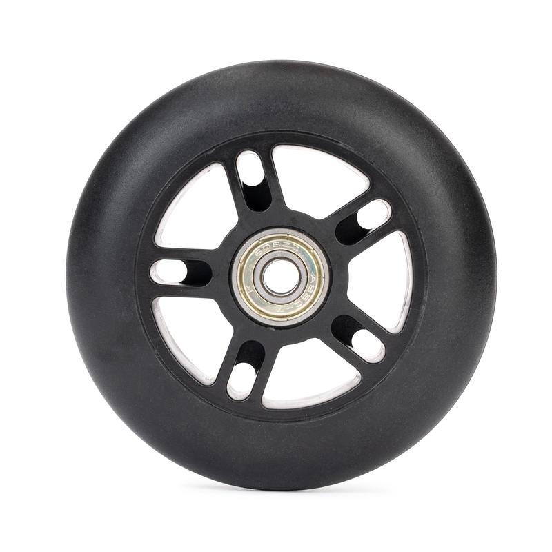 גלגל קורקינט 100mm כולל מסבים – שחור