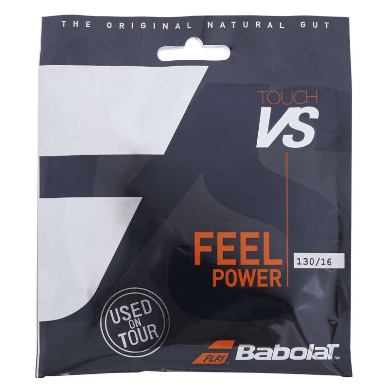 CORDAJ RACHETE TENIS Sporturi cu racheta - Cordaj Babolat Vs Touch 1.30mm BABOLAT - Mingi de tenis si accesorii