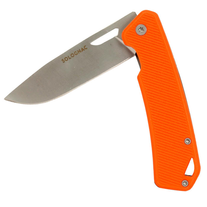 Couteau chasse pliant Axis 75 GRIP V2 Orange