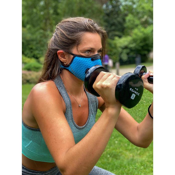 Sport mondmasker COVID-19 Breezy zwart