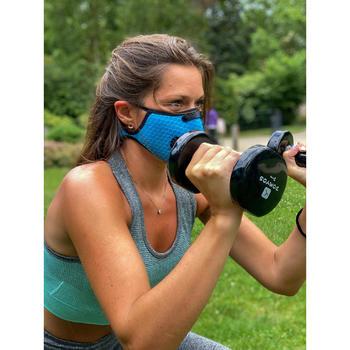 Sportmaskers tegen COVID-19 Breezy blauw