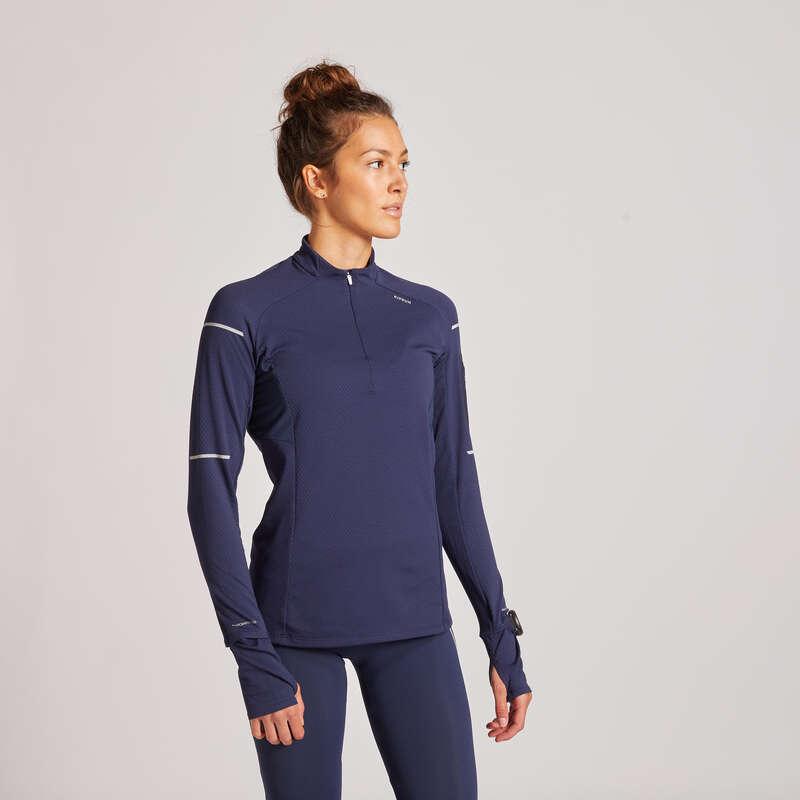 KADIN YOL KOŞUSU SOĞUK HAVA GİYİM Yol Koşusu - KIPRUN WARM TİŞÖRT KIPRUN - All Sports