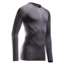 Kiprun Skincare Men's Running Winter Breathable LS Tee-Shirt - Grey