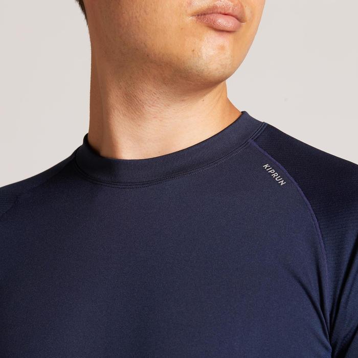 KIPRUN CARE MEN'S LONG-SLEEVED RUNNING T-SHIRT BLUE