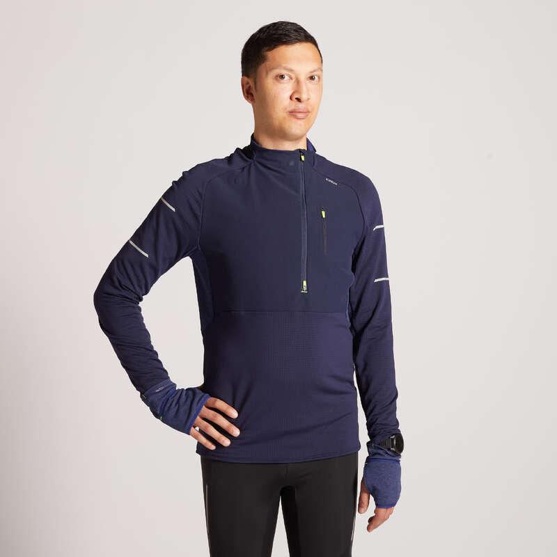 ERKEK YOL KOŞUSU SOĞUK HAVA GİYİM Koşu - KIPRUN WARM REGUL TİŞÖRT KIPRUN - Erkek Koşu Kıyafetleri