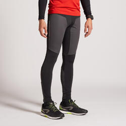 COLLANT RUNNING HOMME CHAUD ET DEPERLANT KIPRUN WARM RAIN NOIR