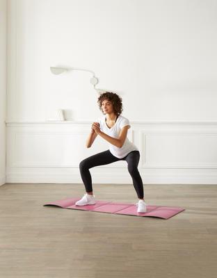 سجادة تمارين رياضية قابلة للطي ومقاومة للانزلاق - مقاس M 8 مم