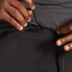 男款透氣跑步緊身褲KIPRUN DRY - 黑色