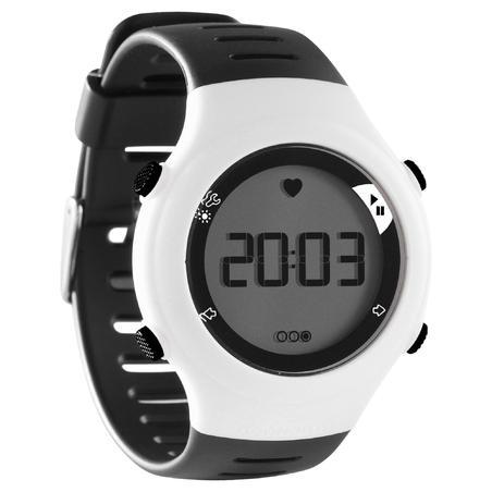שעון דופק לריצה דגם ONRHYTHM 110 - לבן