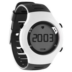 Montre cardiofréquencemètre de course à pied ONRHYTHM 110 blanche