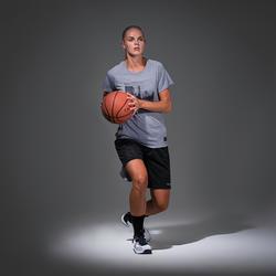Women's Intermediate Basketball T-Shirt / Jersey TS500 - Grey/Photo