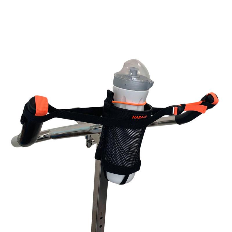 Portabotella Aquabike Negro Naranja