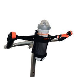 Flessenhouder voor aquabike zwart/oranje