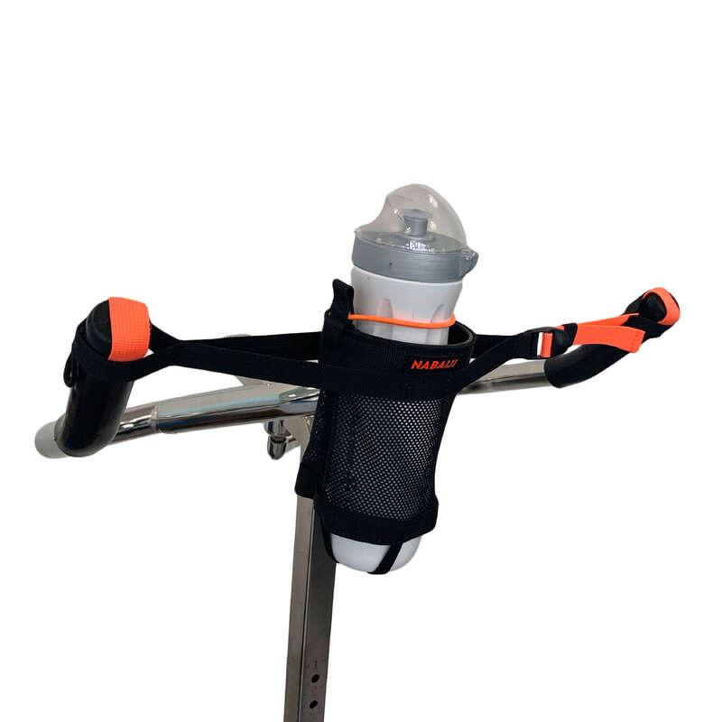 BADKLÄDER OCH UTRUSTNING FÖR AQUAGYM AQU Simning - Flaskhållare svart orange NABAIJI - Simning