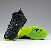 Mid-Rise Basketball Shoes SC500 - Grey/Green